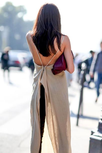 le fashion blogger tank top top dress bag