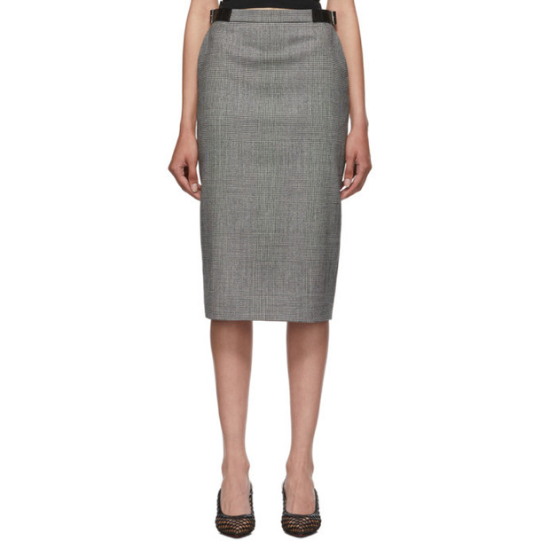 Altuzarra Black and White Bolan Skirt
