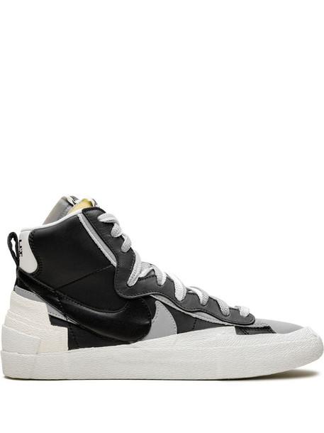 Sacai x Nike Blazer Mid high-top sneakers in black