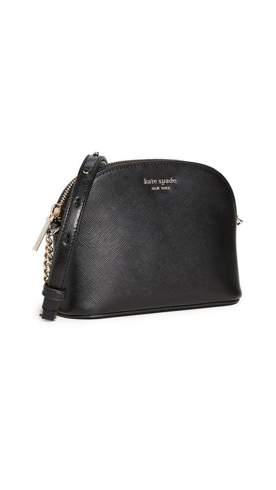 Kate Spade New York Spencer Small Dome Crossbody Bag in black