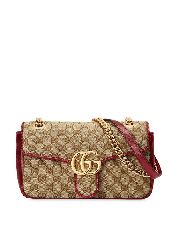 Gucci GG Marmont shoulder bag in neutrals