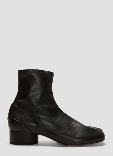 Maison Margiela Tabi Ankle Boots in Black size EU - 36