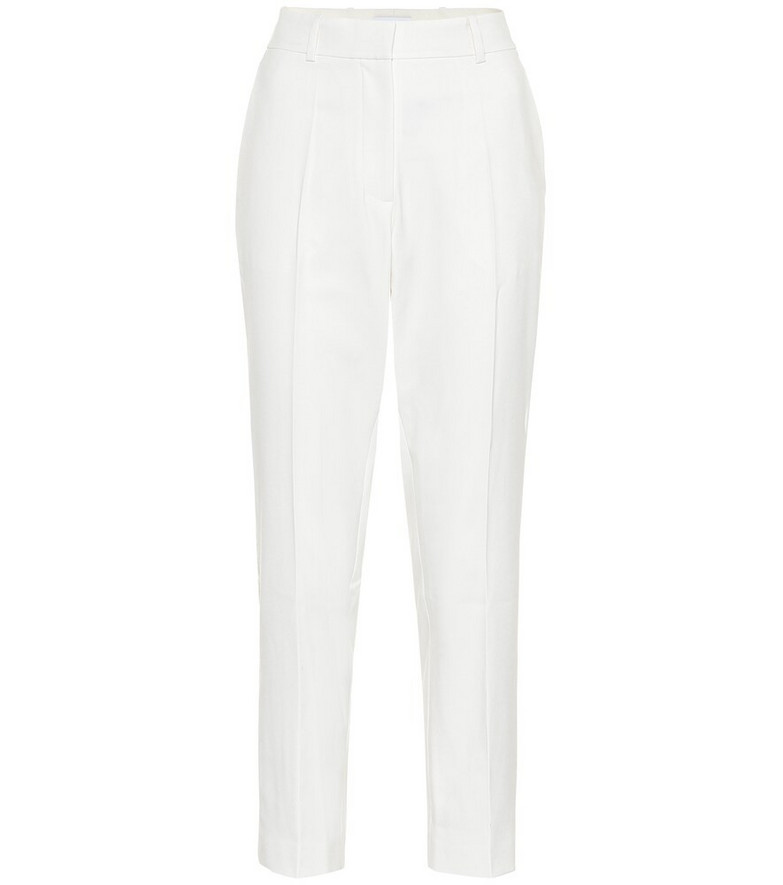 Racil Aries mid-rise slim pants in white