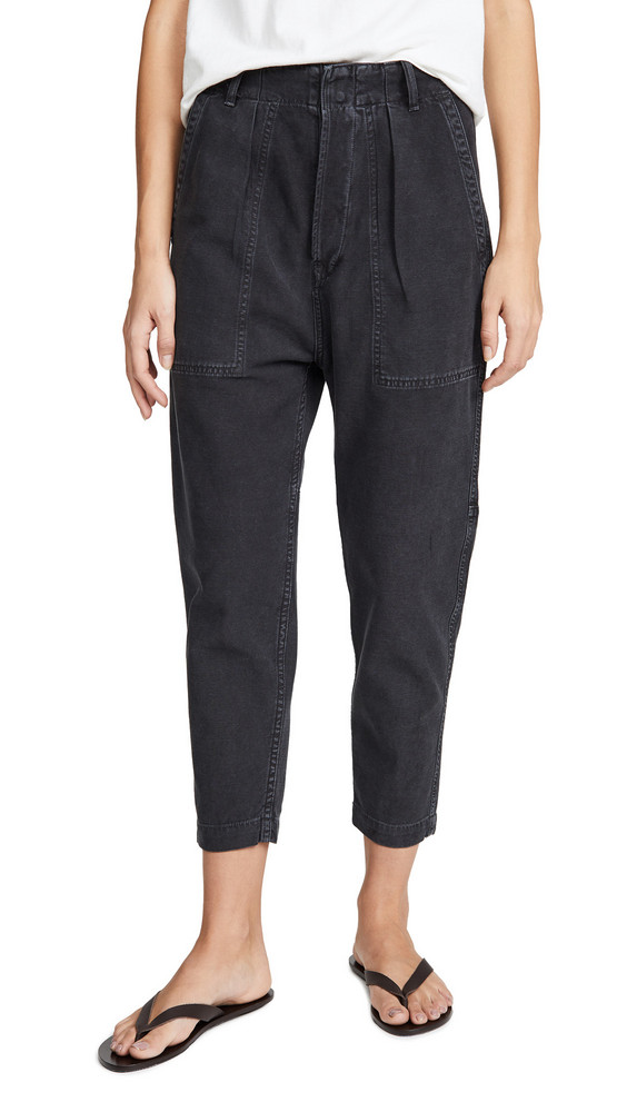 Citizens of Humanity Harrison Tapered Pants in black