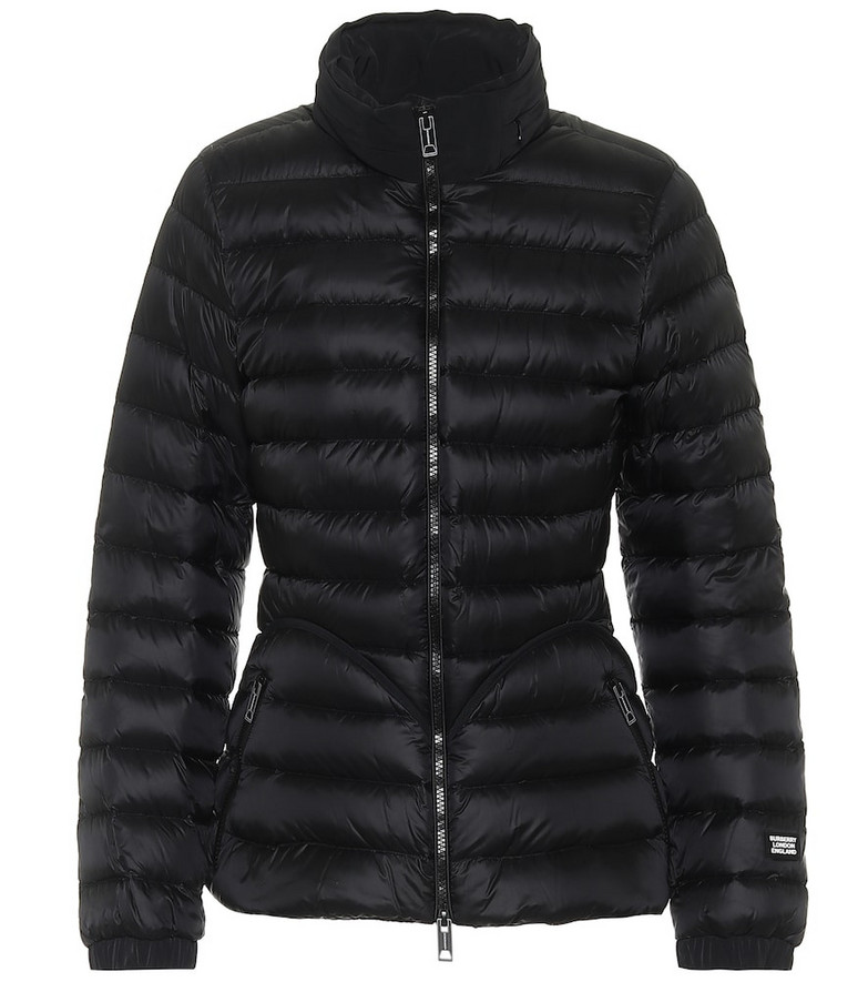 Burberry Quilted down jacket in black
