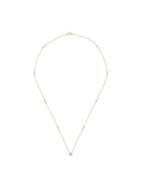 Dana Rebecca Designs 14kt gold Lauren Joy diamond necklace in metallic