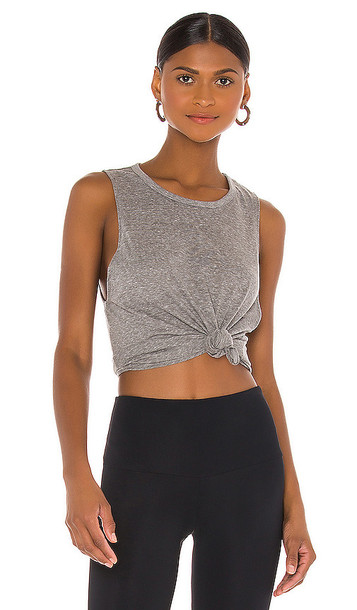 STRUT-THIS The Cruz Muscle Tank in Grey