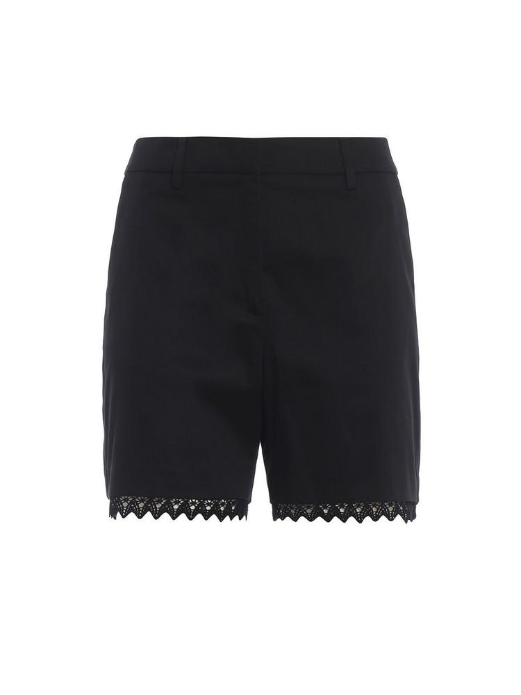 Blumarine Lace Shorts in nero