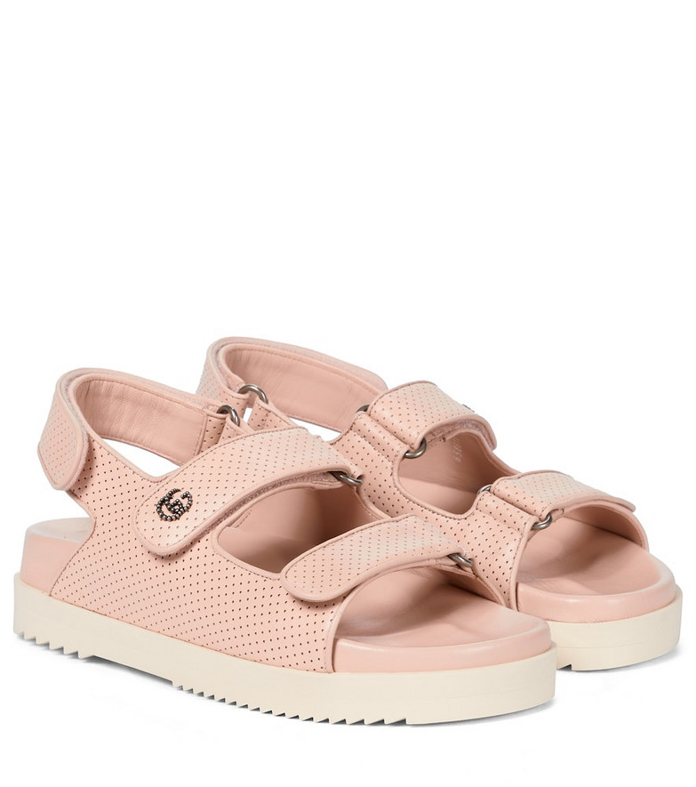 Gucci Leather sandals in beige