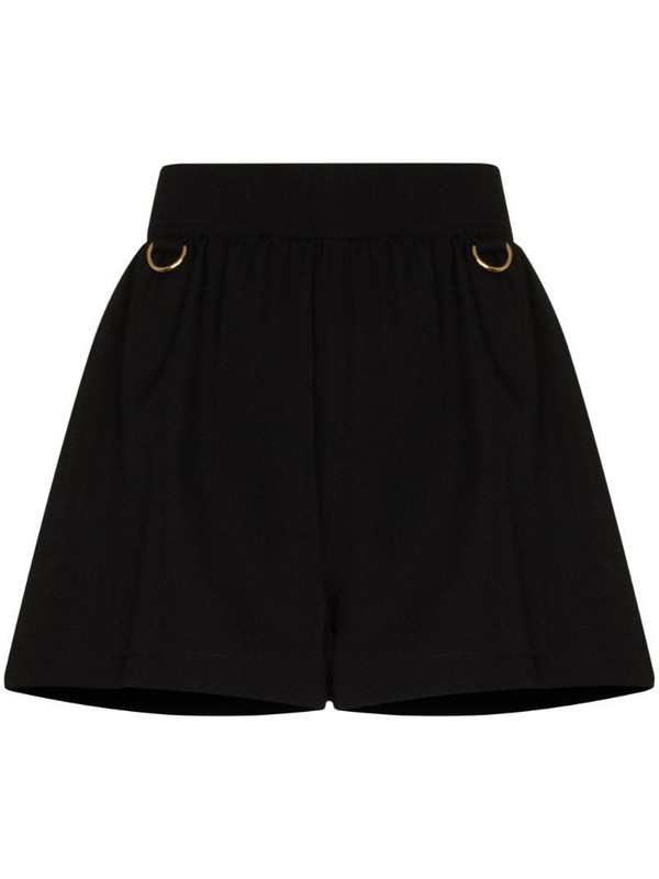 Givenchy ring-detail wool shorts in black