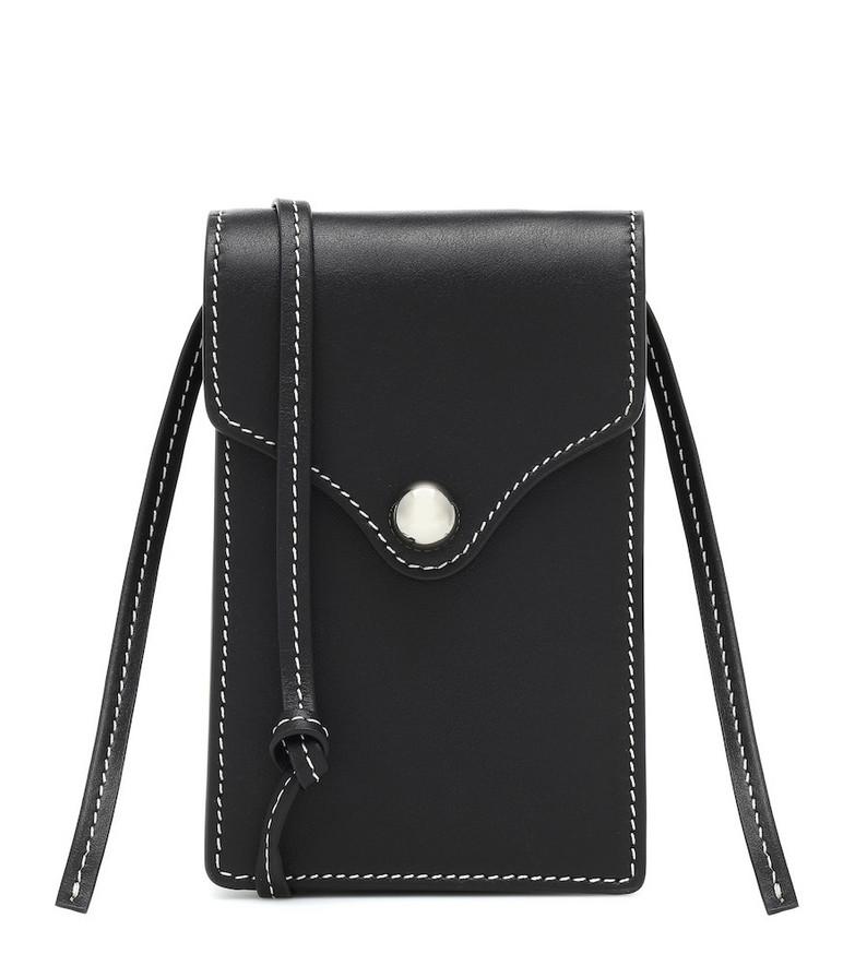 Ratio et Motus Disco leather crossbody bag in black