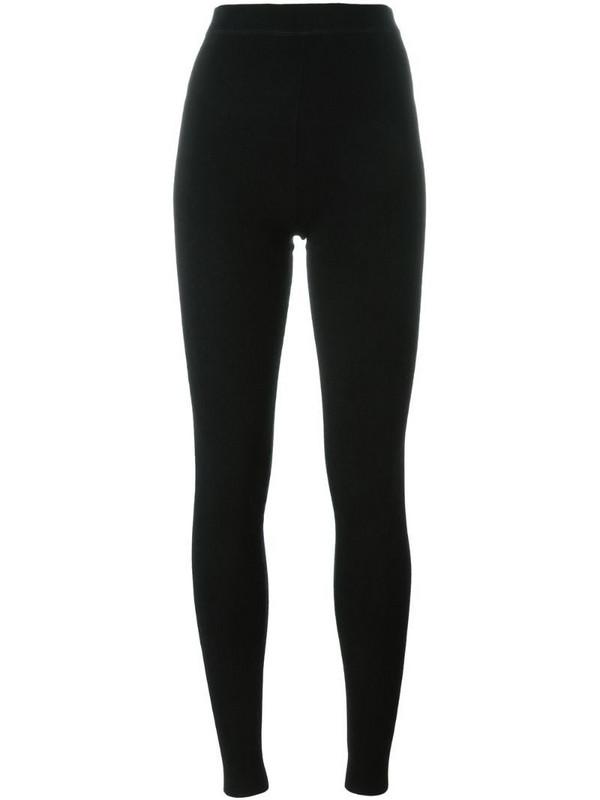 N.Peal high waist leggings in black