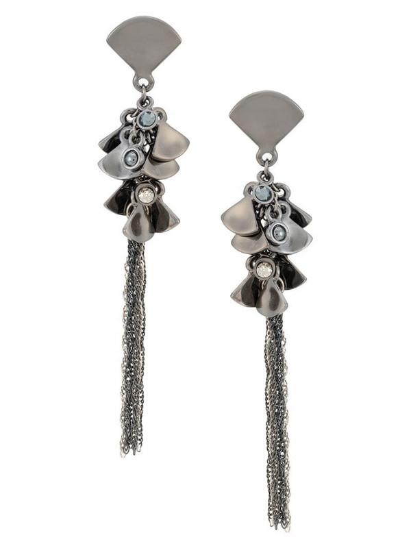 Camila Klein Cascata earrings in black