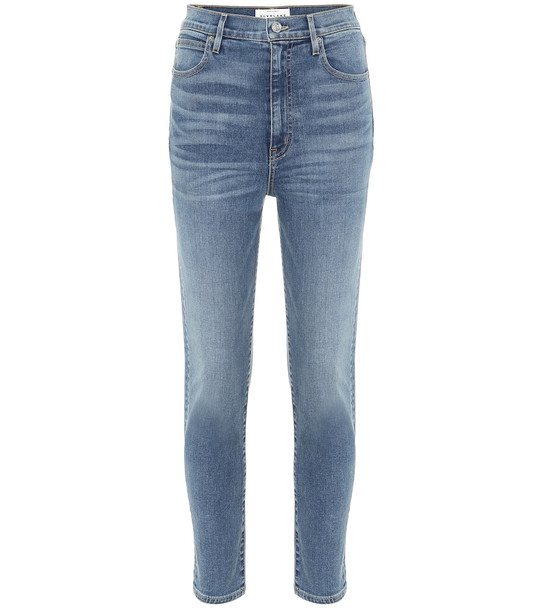 Slvrlake Beatnik high-rise slim ankle jeans in blue