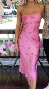 dress,bright,pink