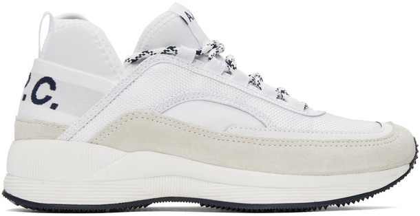 A.P.C. A.P.C. White Run Around Sneakers