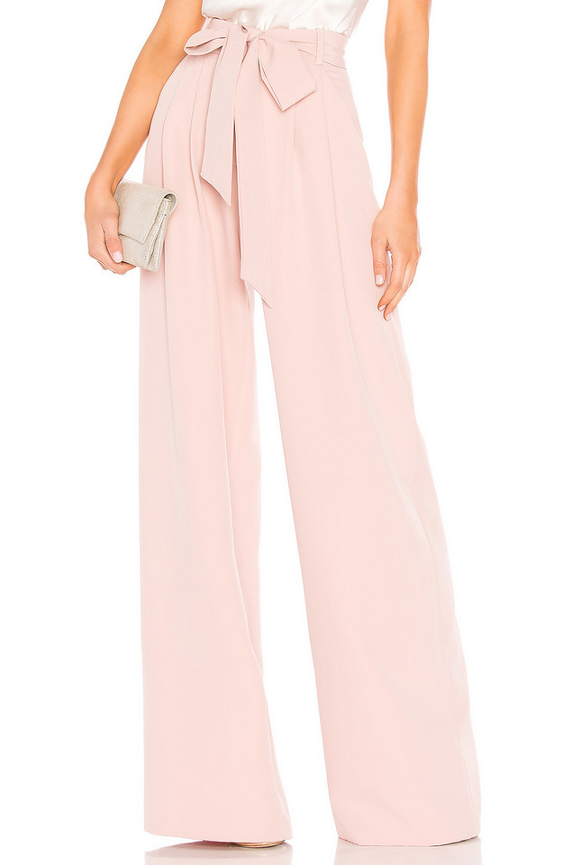 MILLY Natalie Pant in pink