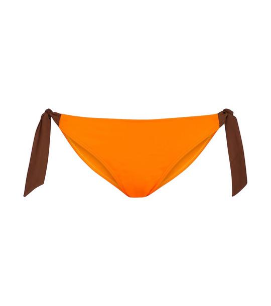 Max Mara 2Gin bikini bottoms in orange