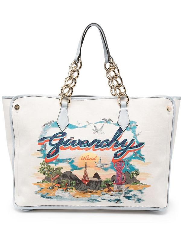 Givenchy medium Bond Island-print tote bag in neutrals