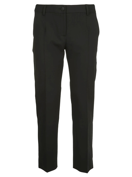 Dolce & Gabbana Classic Cropped Trousers in black