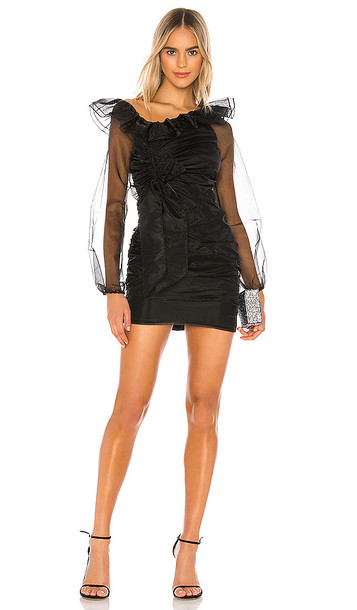 Lovers + Friends Lovers + Friends Aeron Mini Dress in Black