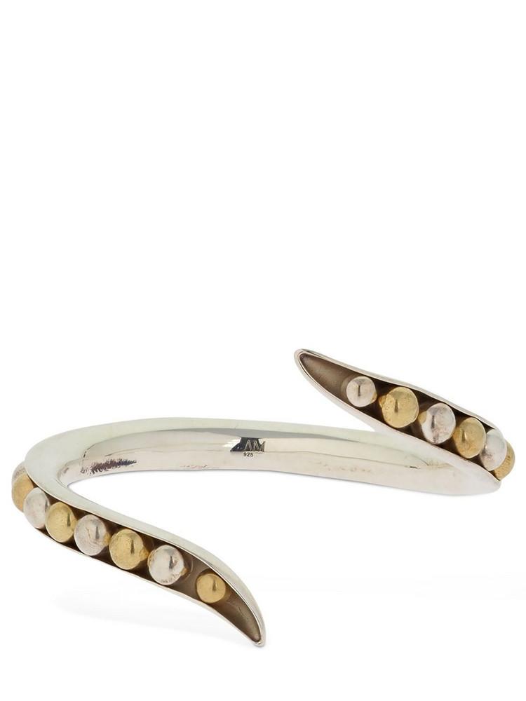 ANNE MANNS Eadie Cuff Bracelet in gold / silver
