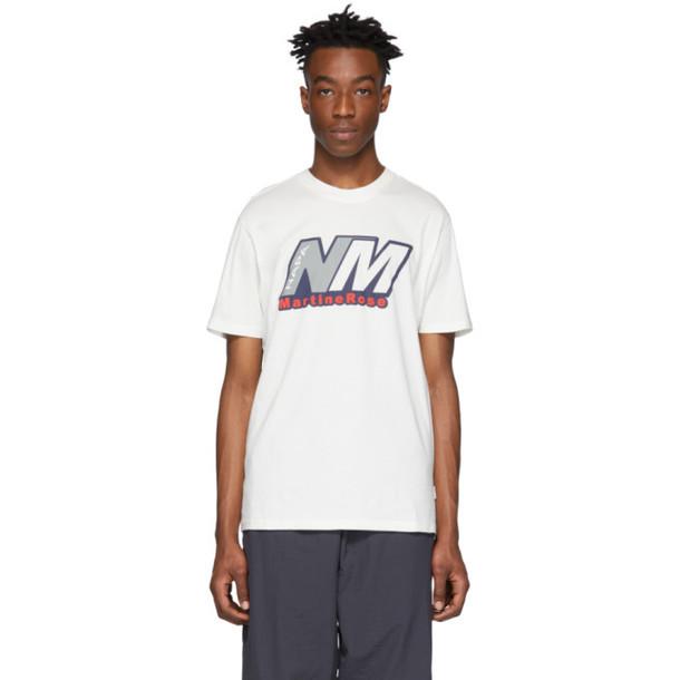 NAPA by Martine Rose White S-Cenis T-Shirt