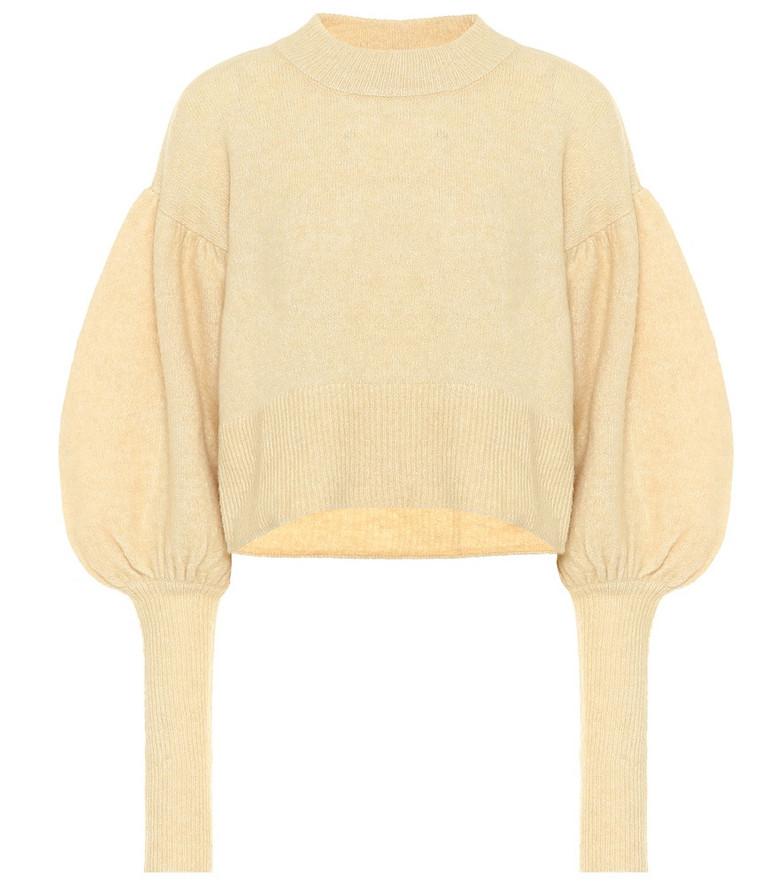 Baum und Pferdgarten Coline cropped sweater in yellow