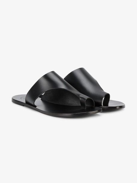 Atp Atelier Rosa cutout sandals in black