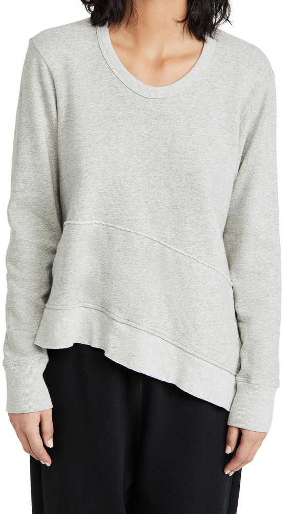 Wilt Slant Pocket Pullover in grey