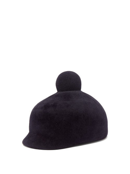 Lola Hats - Toy Soldier Felt Hat - Womens - Navy