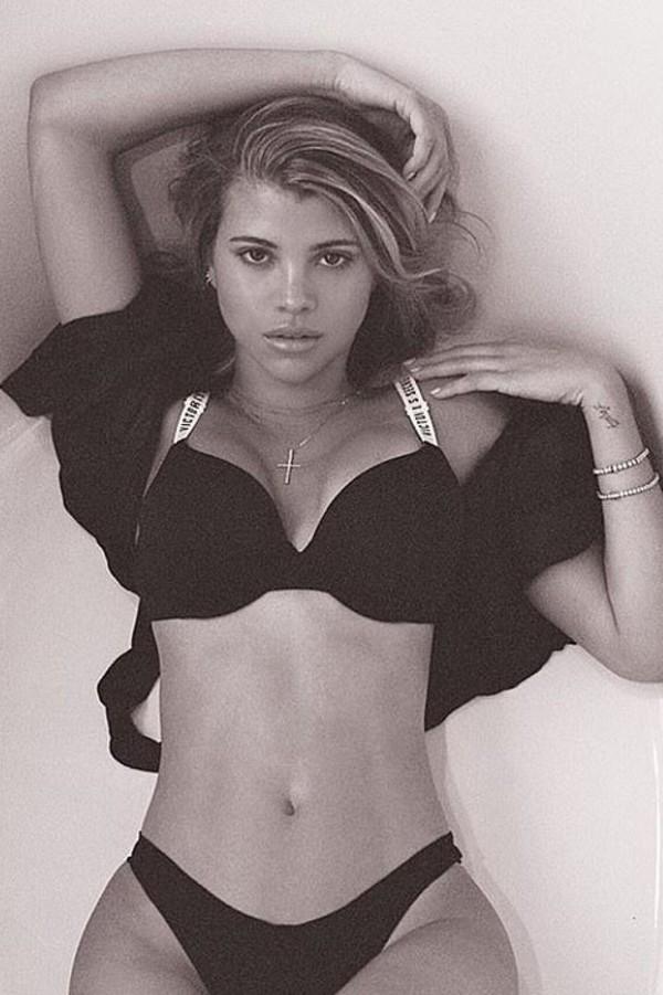 underwear lingerie lingerie set bra bralette sofia richie celebrity panties