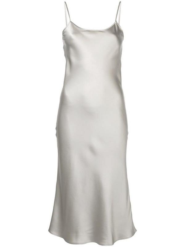 VOZ slip cami dress in grey