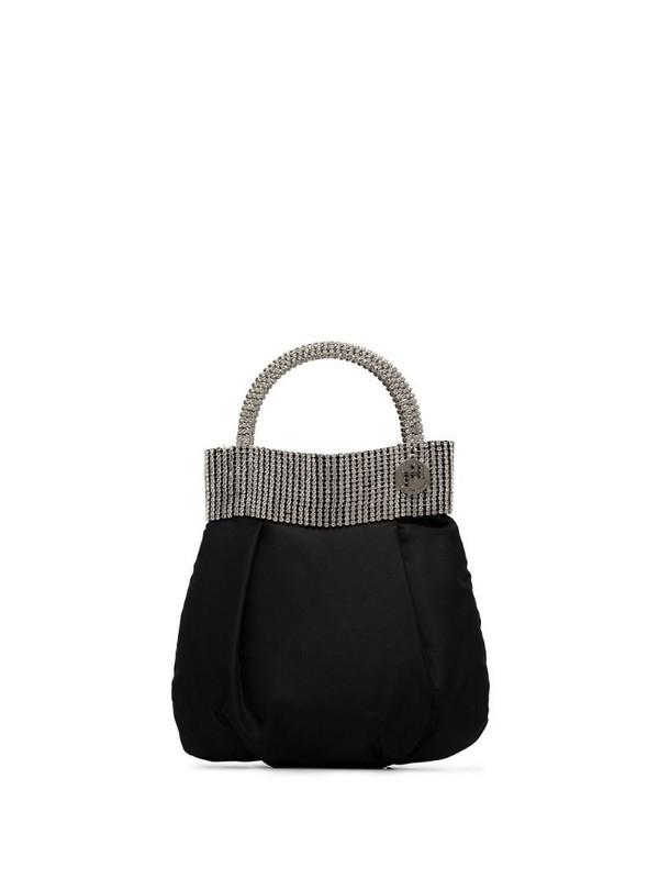 Rosantica Follie crystal-embellished mini bag in black