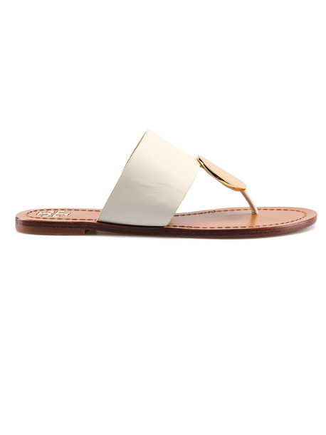 Tory Burch Patos Disk Sandal in ivory