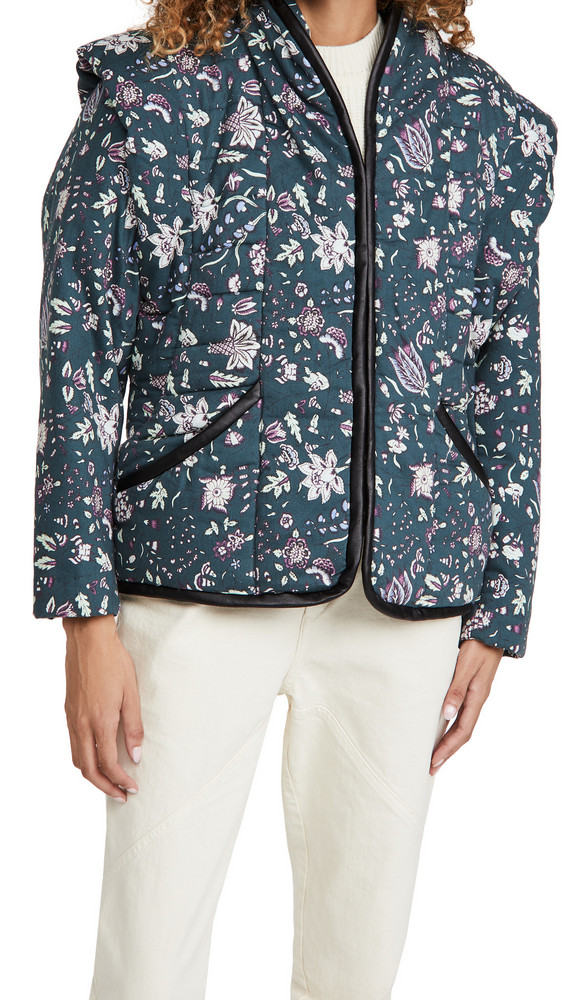 Isabel Marant Anissaya Jacket in green