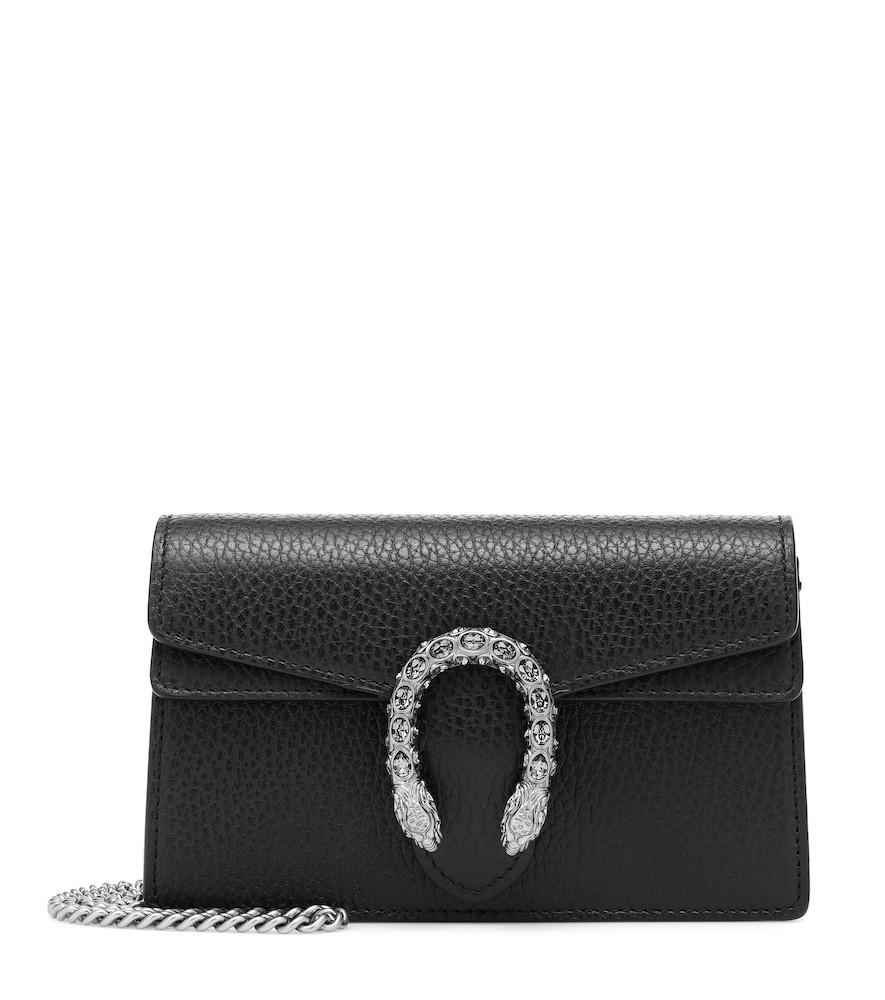 Gucci Dionysus Super Mini shoulder bag in black