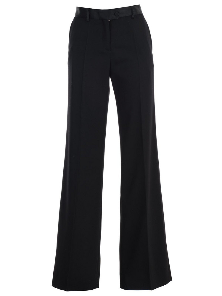 Paul Smith Flared Cut Trousers in black