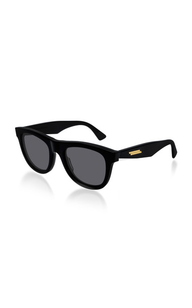 Bottega Veneta The Originals Square-Frame Acetate Sunglasses in black