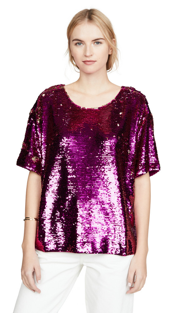 Figue Layla Top in magenta
