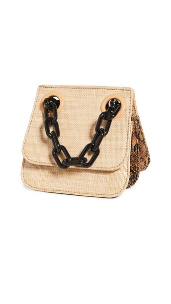 Studio 33 Woke OG Shoulder Flap Bag in natural