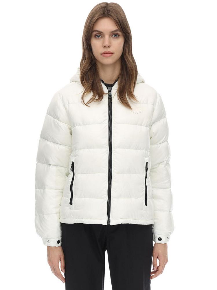 DUVETICA Kuma Nylon Down Jacket in white