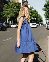 dress,mini dress,blue dress,sleeveless dress,black dress