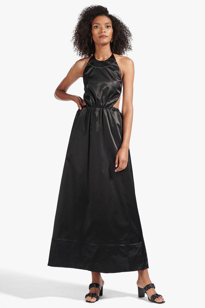 Staud SIDNEY DRESS | BLACK