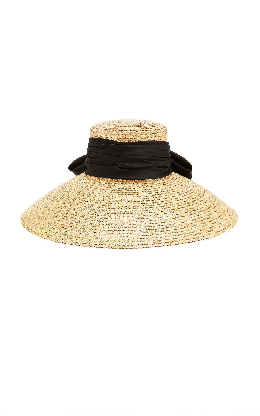 Eugenia Kim Mirabel Straw Hat in black