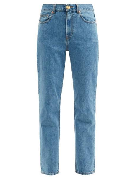 Blazé Milano - Nariida Maya Straight-cut Jeans - Womens - Denim