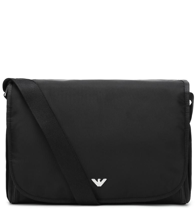 Emporio Armani Kids Changing bag in black