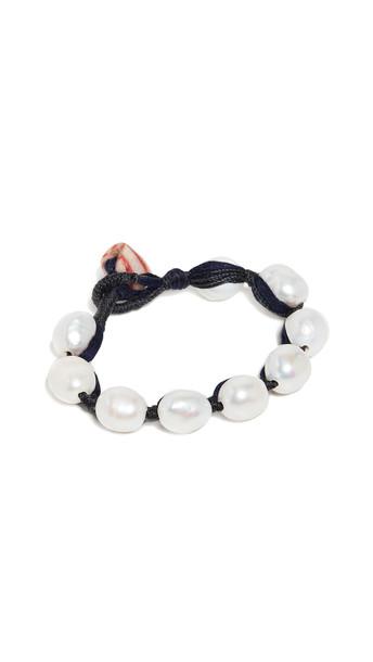 Lizzie Fortunato Pebble Bracelet in black