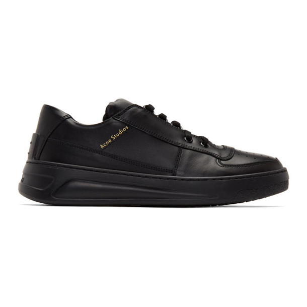 Acne Studios Black Perey Sneakers