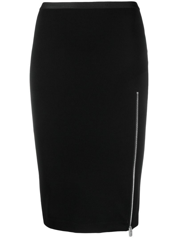 1017 ALYX 9SM high-rise zip-up pencil skirt in black